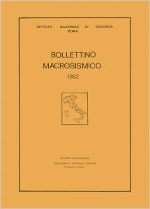 Bollettino Macrosismico ING, 1984