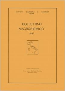 Bollettino Macrosismico ING, 1985