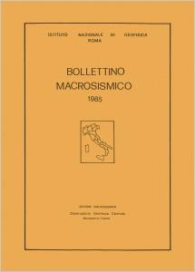 Bollettino Macrosismico ING, 1987a