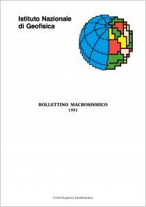 Bollettino Macrosismico ING, 1994
