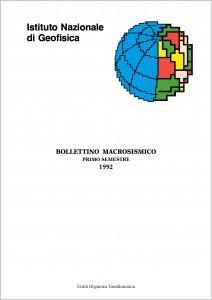 Bollettino Macrosismico ING, 1995