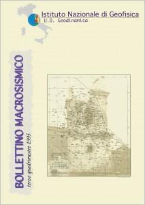 Bollettino Macrosismico ING, 1999d